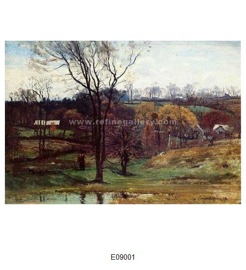 John Joseph Enneking Paintings Wholesale Oil Painting