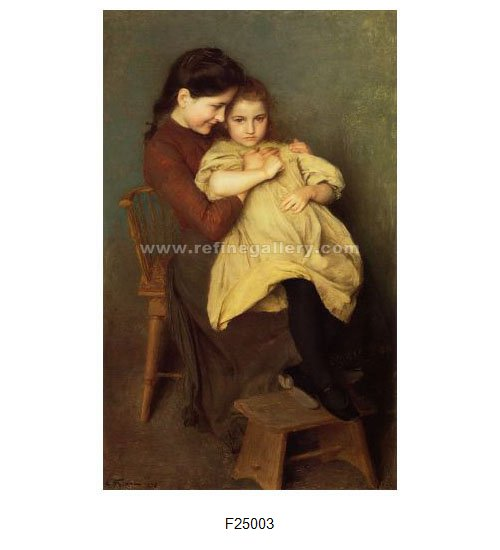 Emile Friant Paintings Wholesale Oil Painting