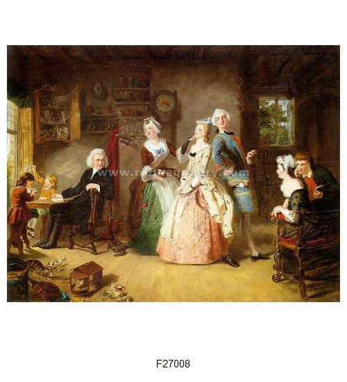 William Powell Frith Paintings Wholesale Oil Painting