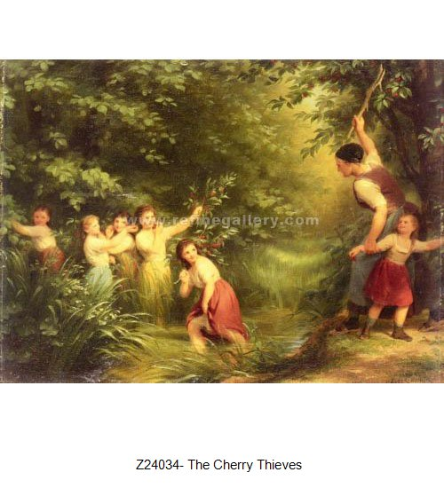 Fritz Zuber Buhler Paintings Wholesale Oil Painting