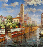 wholesale Venice Painting, china oil painting reproductions wholesale