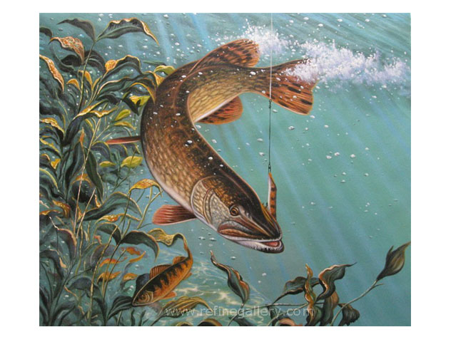 Fish Painting From Photo VI